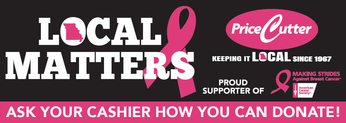 Proud supporter of Making Strides Against Breast Cancer