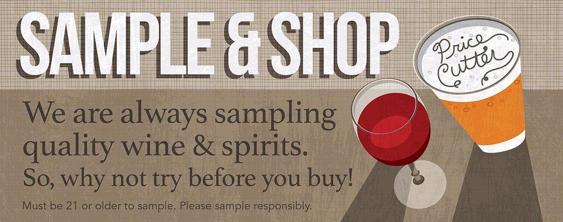 Sample & Shop
