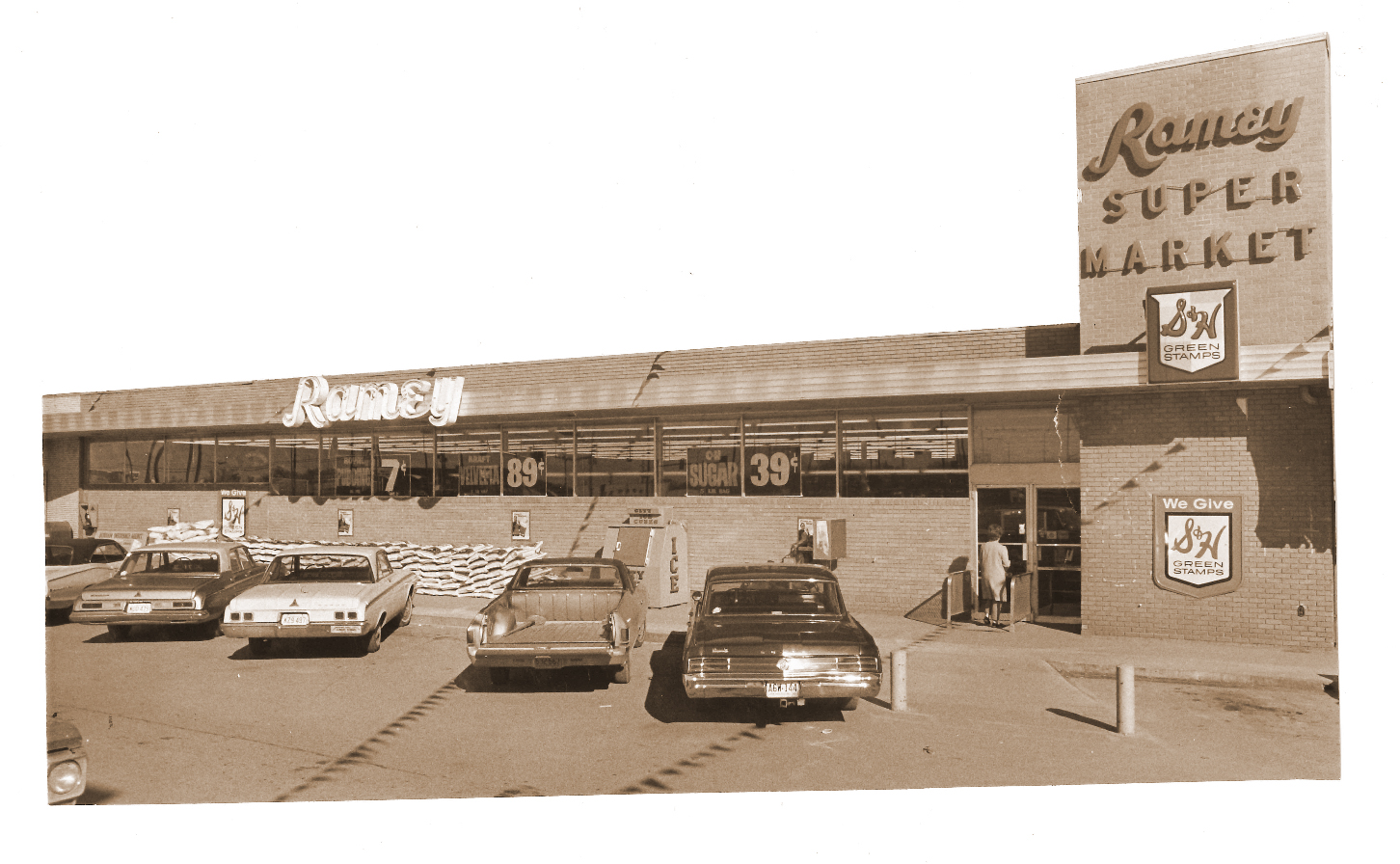 Vintage Ramey Store Front